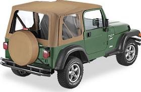 High Quality Bestop Soft Top For 1998   2001 Jeep Wrangler