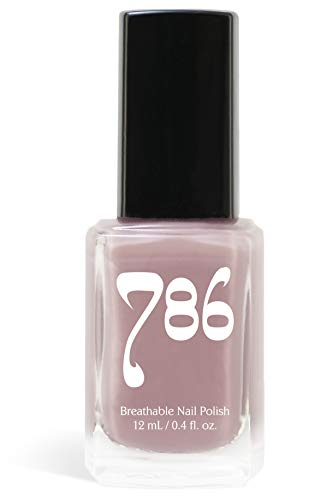 786 Cosmetics Kashmir - (Purple) Vegan Nail Polish, Cruelty-Free, 11-Free, Halal Nail Polish, Fast-Drying Nail Polish, Best Purple Nail Polish, Perfect Nude