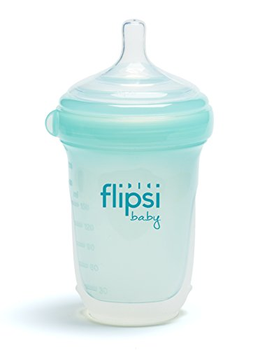 Flipsi-Baby-Natural-Feeding-Silicone-Bottle-8-Ounce-BPA-Free