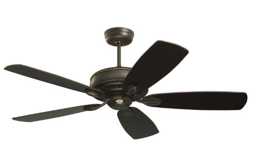 Emerson CF900GES Prima Energy Star Indoor Ceiling Fan, 52-Inch Blade Span, Golden Espresso Finish and Dark Cherry/Chocolate Blades