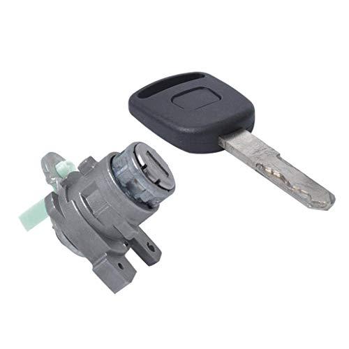 Baosity Car Left Driver Door Lock Cylinder Key Fits Honda Accord 2003-2007
