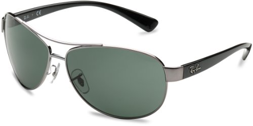 Ray-Ban RB3386 004/71 Gunmetal Sunglasses by Ray-Ban
