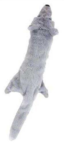 Ethical Skinneeez Big Bite Wolf Stuffingless Dog Toy, My Pet Supplies