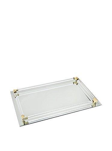 Mirror vanity trays for bathroom