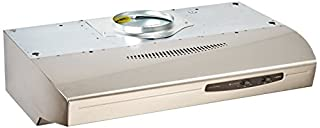 Broan QS130SS 220 CFM Under Cabinet Hood, 30-Inches, Stainless Steel (B00074TBC2) | Amazon price tracker / tracking, Amazon price history charts, Amazon price watches, Amazon price drop alerts