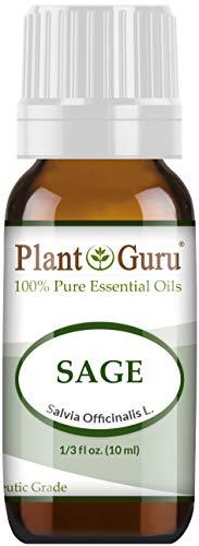 - Sage Essential Oil (Austria) 10 ml 100% Pure Undiluted Therapeutic Grade.
