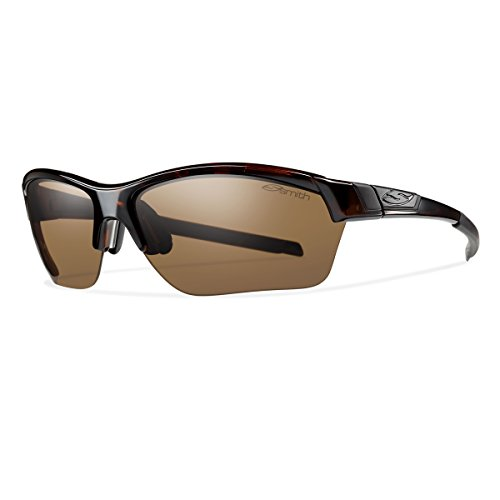 Interchangeable Optics - Smith Optics Approach Max Sunglasses, Tortoise Frame, Polarized Brown/Ignitor Lenses