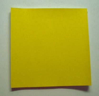 Yellow Origami Paper 50 sheets #N8288