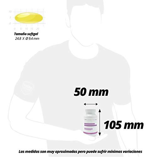Omega 3 6 9 de HSN | Aceite de pescado, linaza y girasol | Ácidos Grasos Esenciales: Linolénico + Linoleico + Oleico | Con Vitamina E, Sin Gluten, Sin Lactosa, 30 perlas 7