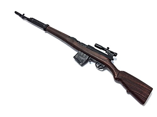 1/6 Scale SVT-40 Sniper Battle Rifle WWII Gun Model German Russian Soviet Army Fit For 12