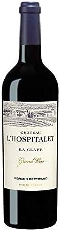 Gérard Bertrand, Château l'Hospitalet, Grand Vin Rouge, La Clape, VINO TINTO (caja de 6x75cl) Francia/Languedoc
