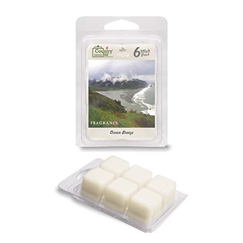 Country Jar Ocean Breeze Soy Wax Melts/Tarts (2.75 oz. 6-Cube Pack) Spring Pick-3 Sale! See Details.