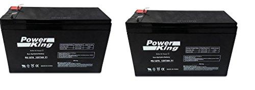 Razor Mini Chopper High Performance Batteries (2) 12V 7ah (Razor Chopper Battery compare prices)