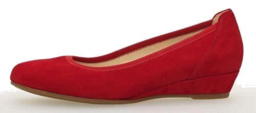 Gabor Comfort 82.690-48 Kreta- Damesko Fashionable Pumps / Ballerina, Rød, Hælhøjde: 30 Mm Rød