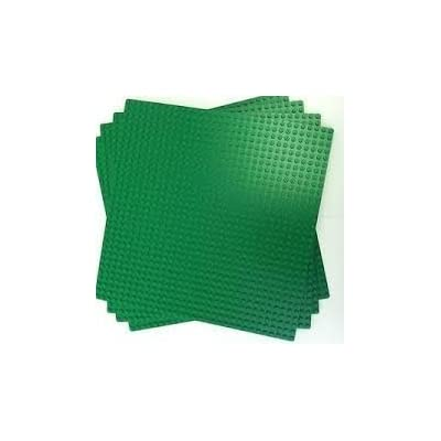 LEGO Green Builder Base Plate 626 (10 x 10) 3 units by LEGO: Toys & Games