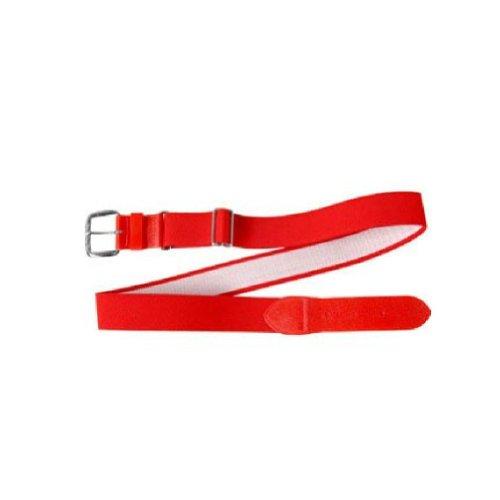 (All Star Youth Adjustable Elastic Belts Scarlet)