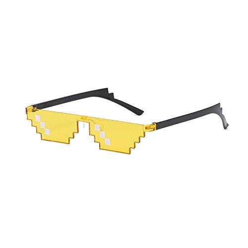 vendre hommes bits 0113 nez paire 8 Hot de lunettes Pixel les Sonnenbrille style avec size 2018 Life Thug femmes de plus MinegRong JY polygonalen Minecraft Pad avec twHFxqgwO