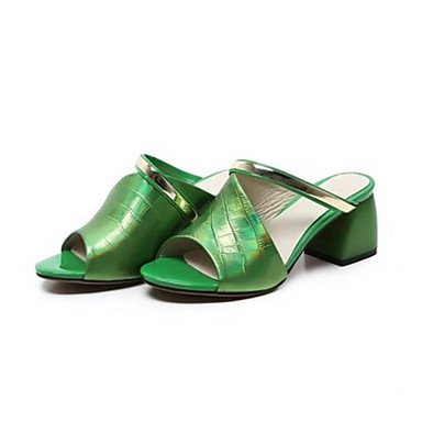 Casual Green EU35 RTRY US5 Summer Flat UK3 Comfort Silver Comfort Women'S CN34 Pu Sandals Black CwXw0qF