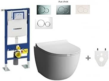 Geberit - Pack de inodoro suspendido (sin brida): Amazon.es: Bricolaje y herramientas
