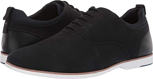 ALDO Men's Aseliria Black Leather 45 D EU ()