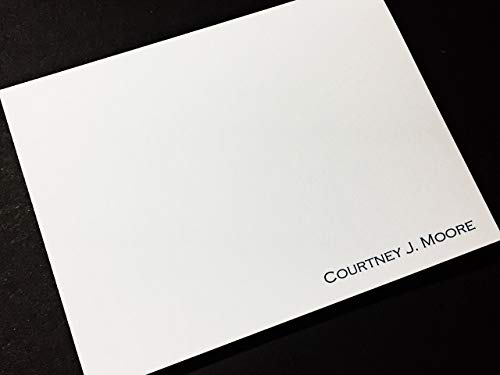 Casual Cards Correspondence (Personalized Stationery Note Cards - Thank You Notes - Set of 12 with Envelopes)