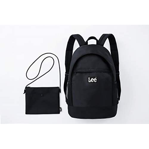 Lee BACKPACK SET BOOK BLACK version 付録