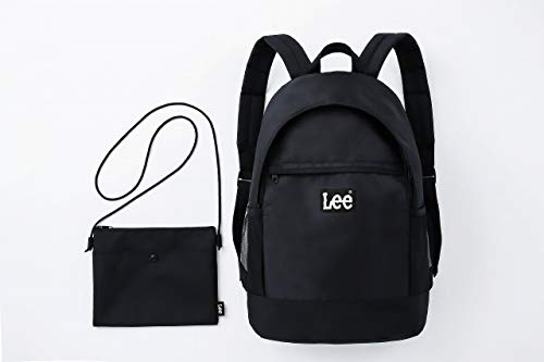 Lee BACKPACK SET BOOK BLACK version 付録画像