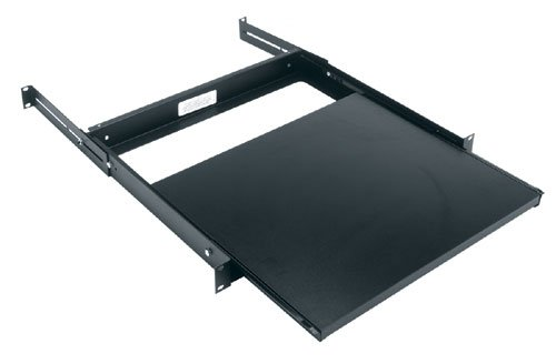 Middle Atlantic SSL Sliding Shelf Low Profile, Single Rack Space, 35 lbs Weight Capacity