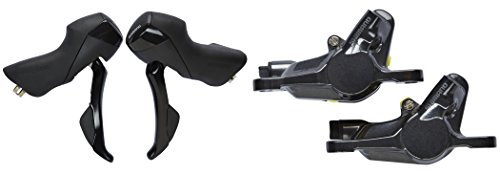 SHIMANO ST-RS505 Shifter/Hydraulic Brake Lever Set BR-RS785 Post Mount Calipers