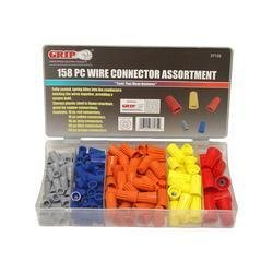 Grip-On-Tools - Grip 158 pc Wire Connector Assortment