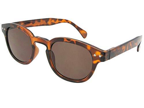 - Lightweight Retro Full Lens Sun Reader (Tortoise Frame-Brown Reading Lenses, 1.75)