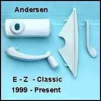 Andersen Hardware Pack, Classic E-Z Casement Window - White - 1361536 by Andersen Windows