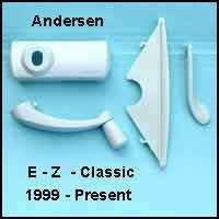 (Andersen Hardware Pack, Classic E-Z Casement Window - White - 1361536)