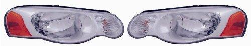 04 Chrysler Sebring Sedan Headlight - 9