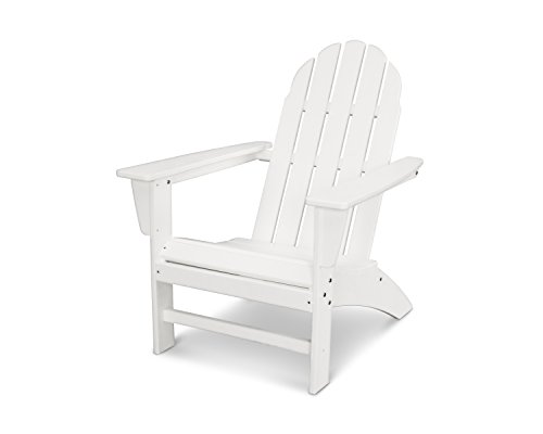(POLYWOOD Vineyard Adirondack Chair (White))