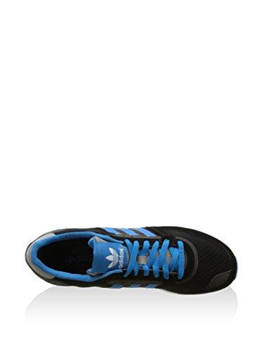 Adidas 3 turchese Toile 43 Sneaker 9 630 Zx 1 uk Nero Eu rwSarzX