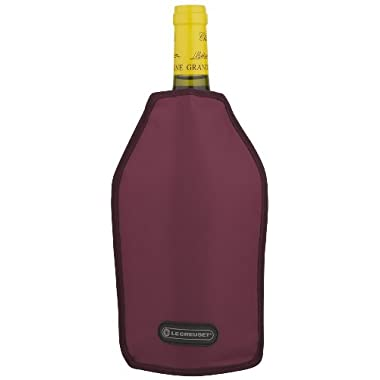 Le Creuset Wine Cooler Sleeve, Burgandy