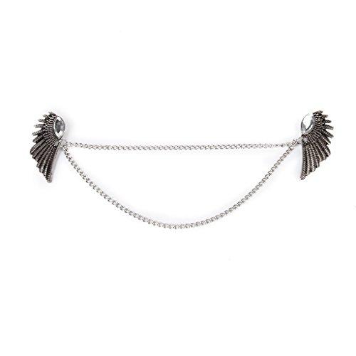 Angel Wings Dangle Chain Colla