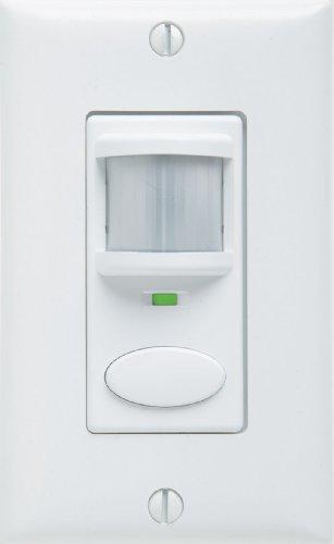 Sensor Switch WSD PDT WH Control Wall Switch Sensor, White ()