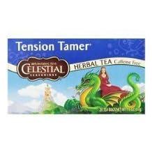 Celestial Seasonings Tension Tamer Tea, 20 Count (Pack of 6) by BUALMARKET