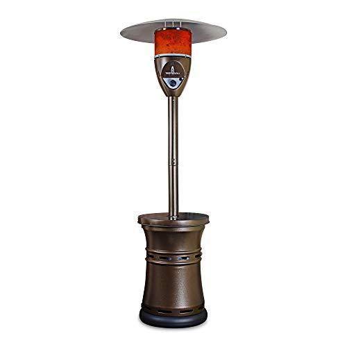 Lava Heat Italia LHI-VITTORIO-41BTU-HB-NG Patio Heater Vittorio Natural Gas, 41000 BTU, Heritage Bronze