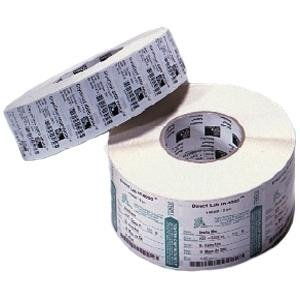 Zebra 83259 Label Paper 2 x 1in Thermal Transfer Zebra Z-Select 4000T 1 in core - Permanent Adhesive - 2 inch Width x 1 inch Length - 2260/Roll - Rectangle - 1 inch Core - Thermal Transfer - White - Paper, Acrylic - 8 / Roll (4000t Zebra Z-select Thermal)