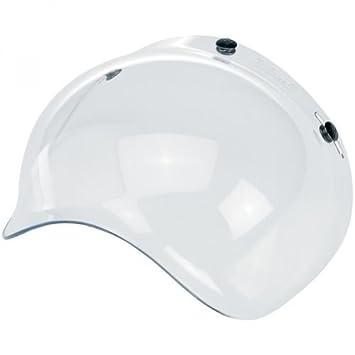 Visera Bolla Bubble transparente para cascos de moto Biltwell Bell DMD Bandit Yam AFX Nolan AGV