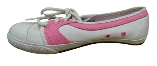 Osiris Skateboard Shoes Saxon White/Pink/Gum