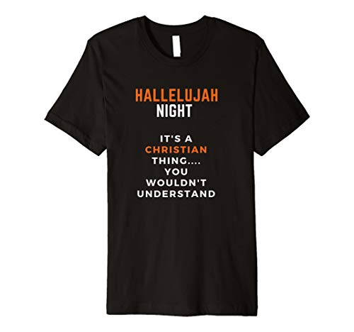 Hallelujah Night/Halloween T-Shirt for Hallelujah Parties