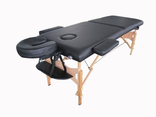 Master massage del ray therma top massage table pro for Mobile beauty therapist table
