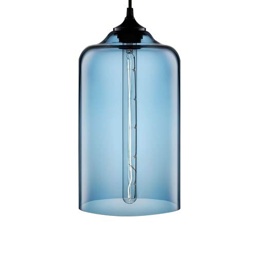 Windsor Home Deco, WH-86274-6, Simple Modern Pendant Lamp with Glass Lamp Shades, Pendant Lighting