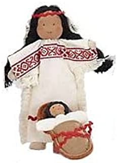 product image for Magic Cabin Westerner Dollhouse Baby