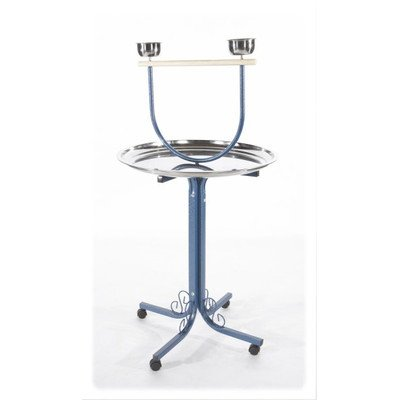 Ornate Style Base Play Stand Color: Black by A&E Cage Co.