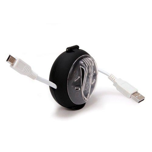 Dotz Mini Cord Wraps, Set of 6, 3- Black and 3- White (MCW32M-C) Photo #2